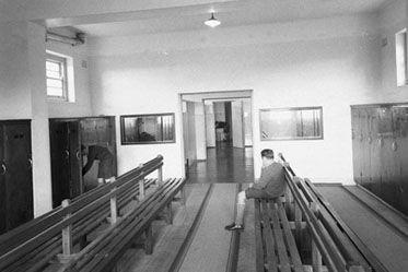 1920s Baseball Locker Room Entrance