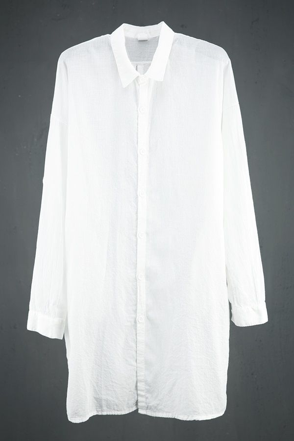 Vintage Washed Long Shirts