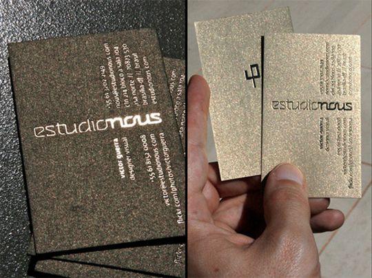 Post image for estudio nous business card creative visit cards post image for estudio nous business card colourmoves