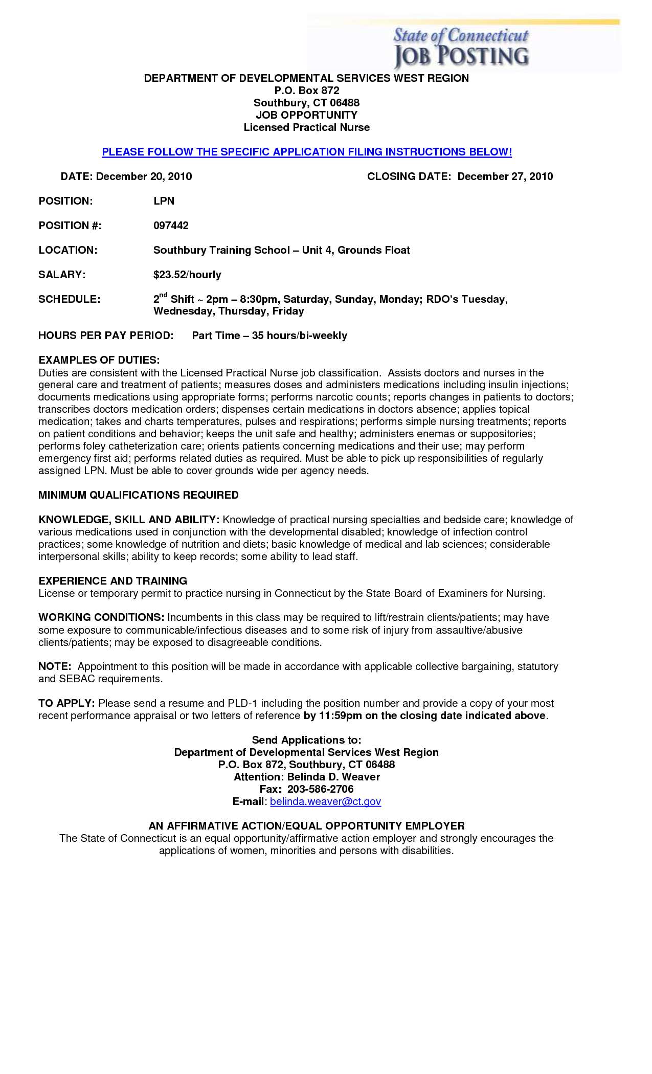 licensed practical nurse resume     resumecareer