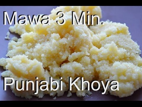 Real khoya or mawa in microwave 3 minute recipe video by chawlas real khoya or mawa in microwave 3 minute recipe video by chawlas kitchen youtube forumfinder Image collections
