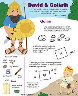 Pbjunkies David Goliath Game Teaching Ideas Pinterest David