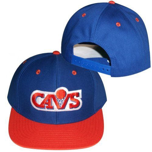b02c195b6d0 Cleveland Cavaliers Blue   Orange Plastic Snapback Adjustable Plastic Snap  Back Hat   Cap by adidas.  8.95. Embroidered team logos.. Officially  Licensed.