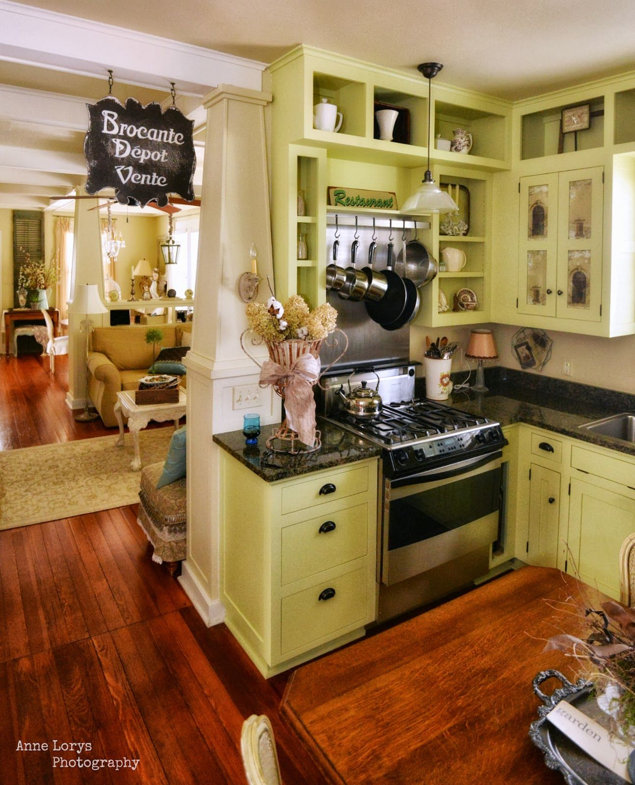 lovely kitchen storage ideas | lovely small kitchen with some open shelves, love the ...