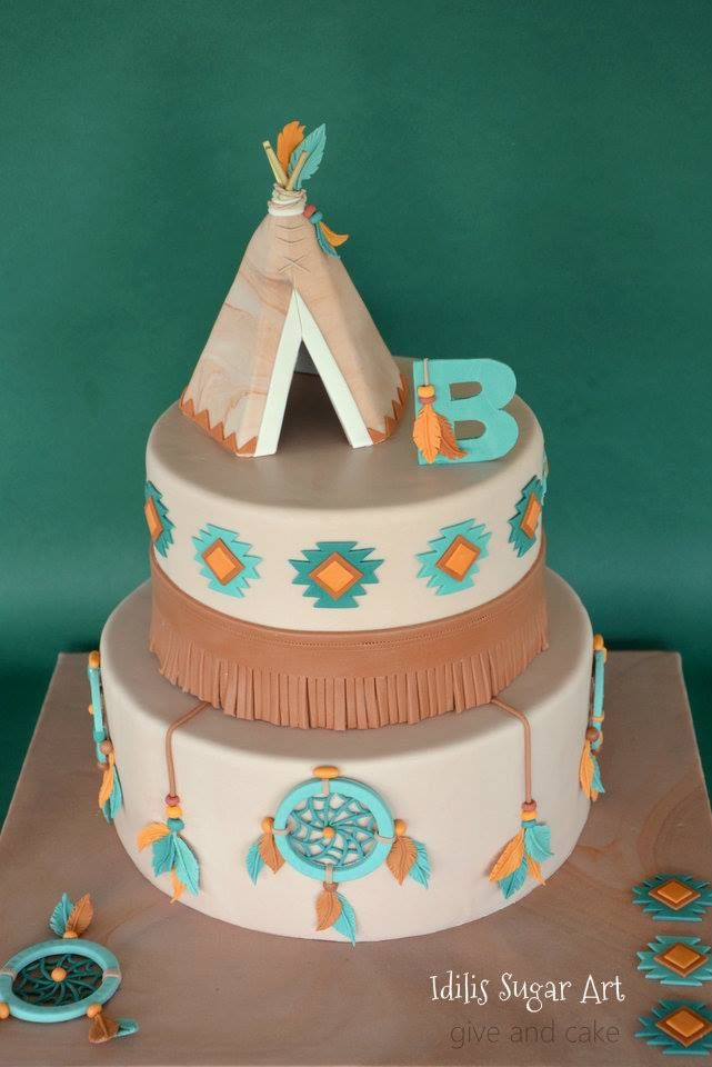 Give And Cake Cakes Cowboys And Indians In 2019 Indian Cake