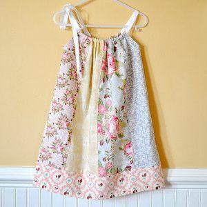 Simple summer dress pattern for girls