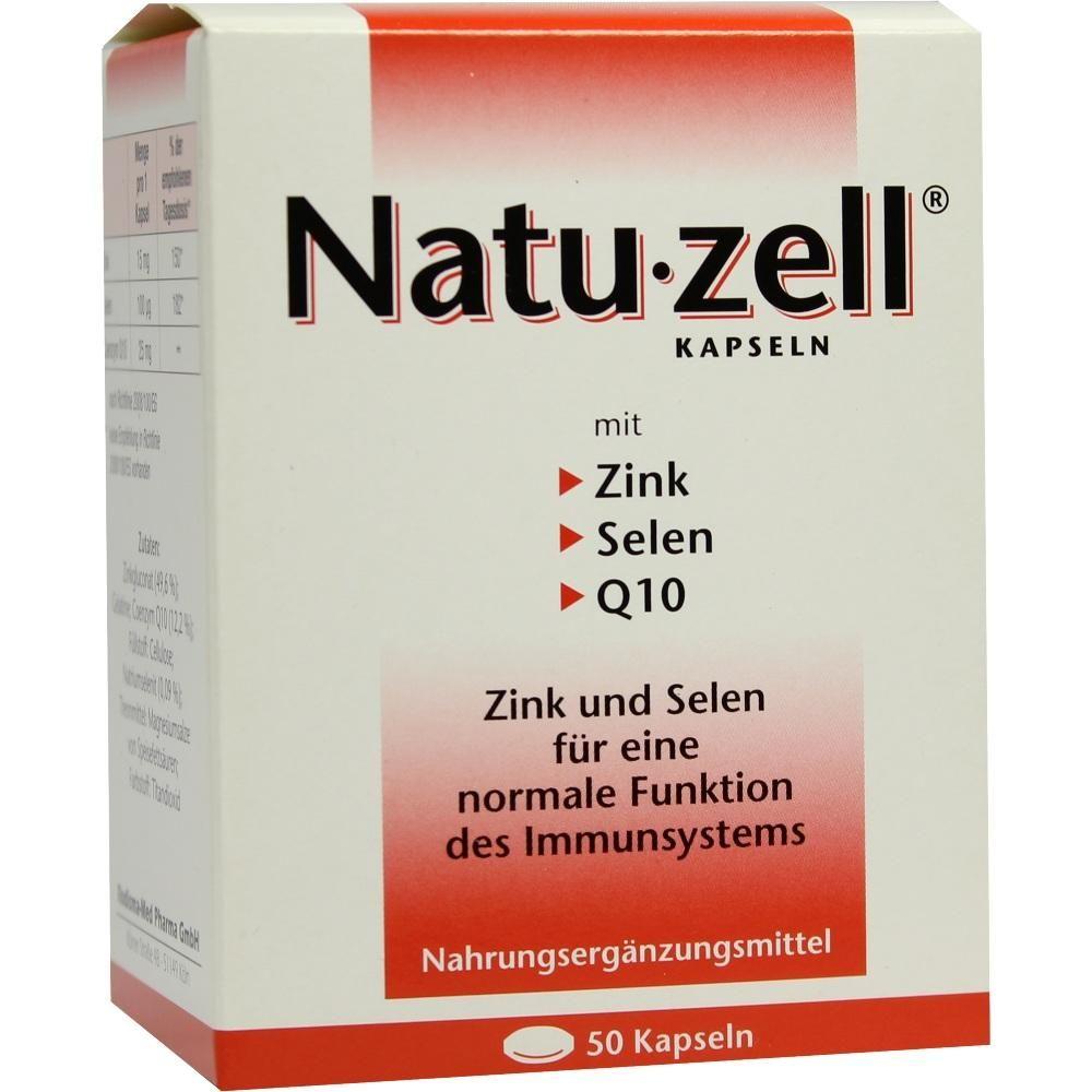 NATU ZELL Kapseln:   Packungsinhalt: 50 St Kapseln PZN: 09284358 Hersteller: Rodisma-Med Pharma GmbH Preis: 10,65 EUR inkl. 7 % MwSt.…