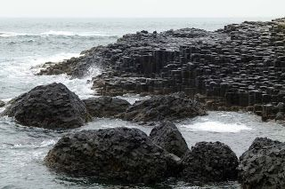 Is the Giant's Causeway a natural construction, or was it the work of a legendary giant? - http://www.worldwidewriter.co.uk/2013/09/the-legend-of-finn-mccool.html