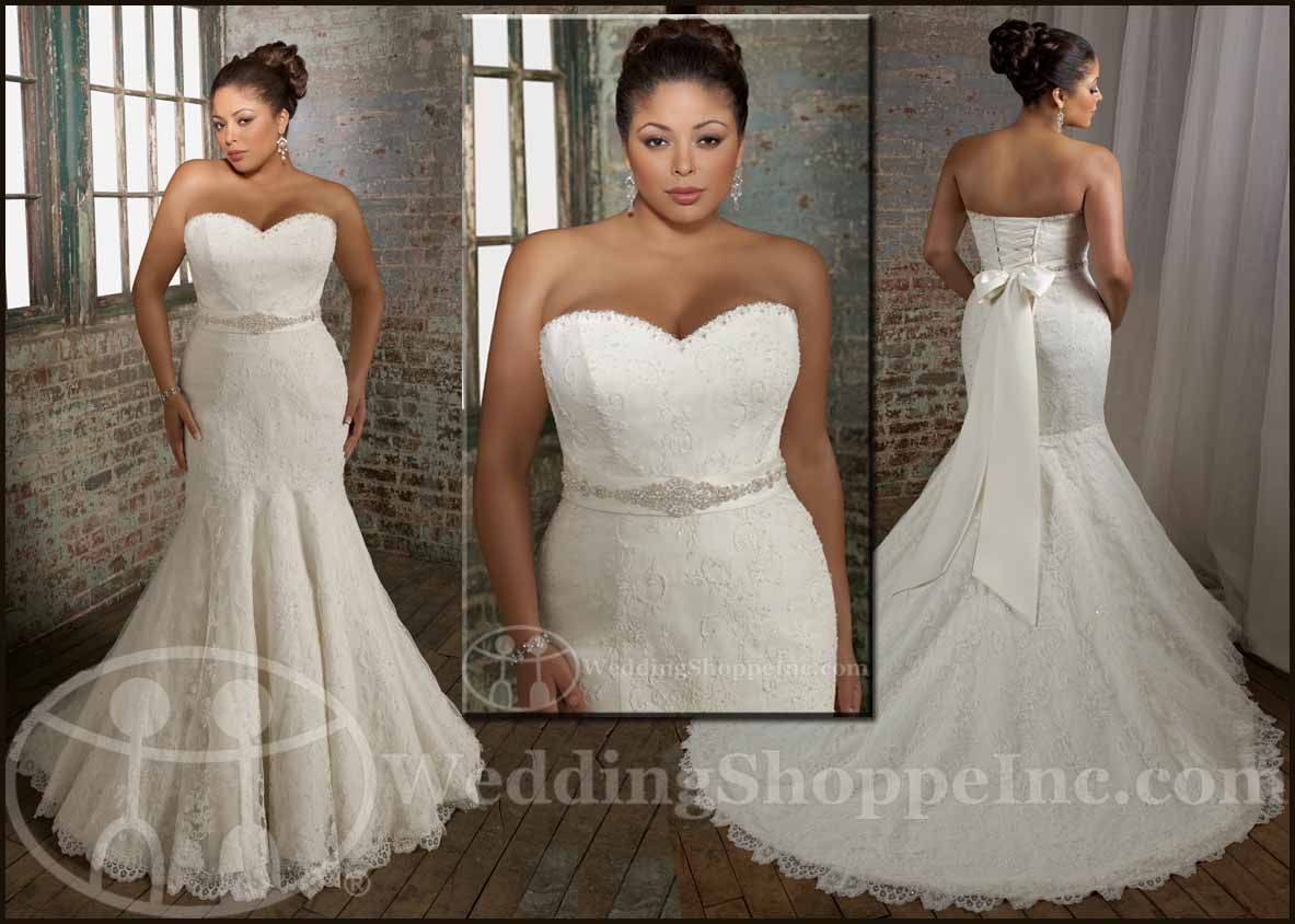 My Wedding Chat » Blog Archive Plus size bridal gowns & plus size ...