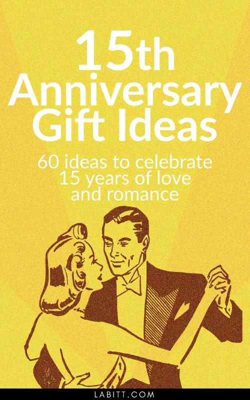 15th Year Wedding Anniversary Gift Ideas For Him And Her Crystal Other Gifts Husband Wife