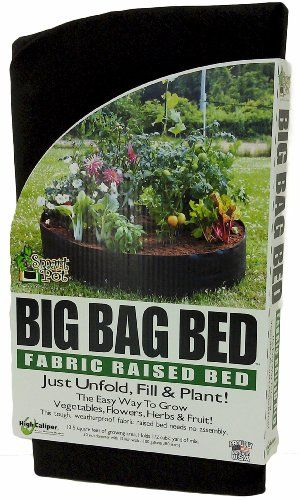 My Experience With Raised Bed Gardens Using Fabric Pots Raised