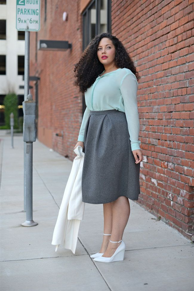 Midiröcke stylen: So kombiniert man die angesagten Röcke ...