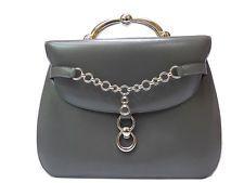 ecdf892a9d1d Authentic Hermes Leather Hnad bag 0320