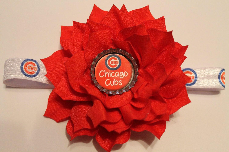 Chicago Cubbies Hair Bow 00c03f239b8