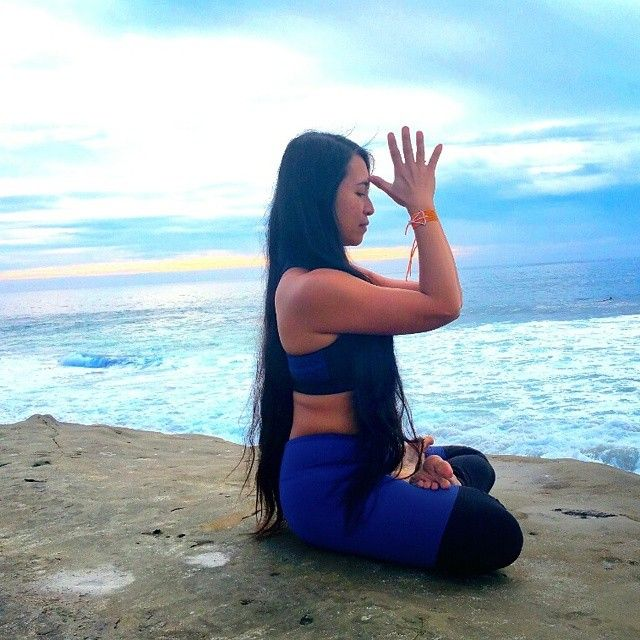 marycarolinejewelry's photo on Instagram  #yoga #yogini #MaryCarolineJewelry #beach #wanderlust #bohemian #prayer #ocean #mermaid