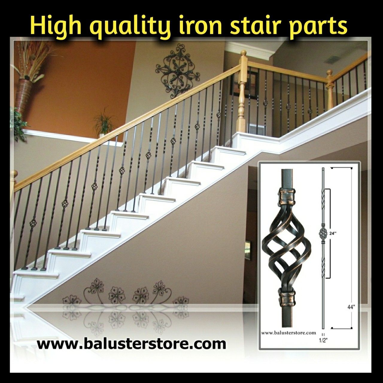 Www.balusterstore.com Shop.balusterstore.com Iron Balusters Iron Stair Parts  Iron