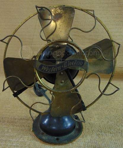 Vintage Electric Fan By Western Electric Antique Fans Electric