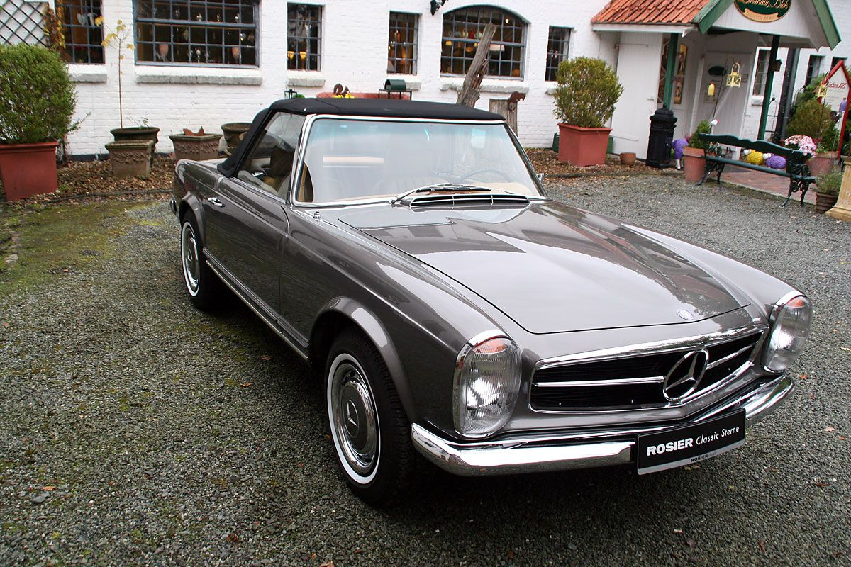 mercedes benz 280 sl pagode w113 cars to admire. Black Bedroom Furniture Sets. Home Design Ideas