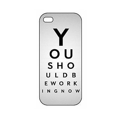 Funny Quote You Should Be Working Now Pattern Plastic Phones Hard Case for iPhone 5/5S Mobile Cases for iphone 5/5s http://www.amazon.com/dp/B00TH1O428/ref=cm_sw_r_pi_dp_goslvb1PCJTXK