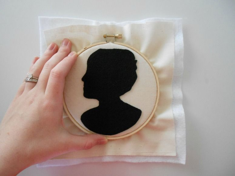 �:(�y�(:-��l#�+_Tutorial:feltsilhouettefromadigitalpicture|Craftprojects,Crafts,Felt