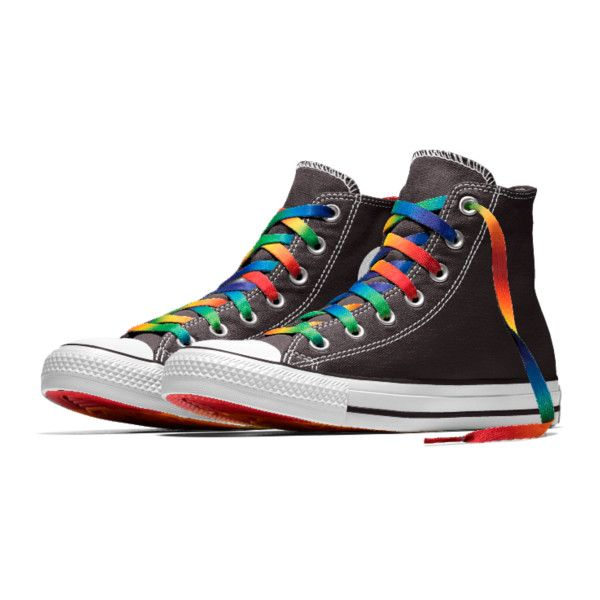 8d6cbfcef14b26 Converse Custom Chuck Taylor Pride All Star High Top Shoe. Nike.com ( 85) ❤  liked on Polyvore featuring shoes