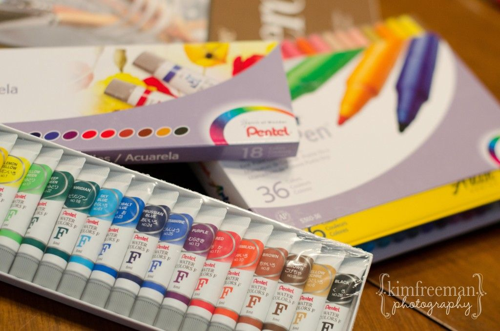 Pentel Art Supplies {Review and Craft} · Lesson Plans | CraftGossip.com