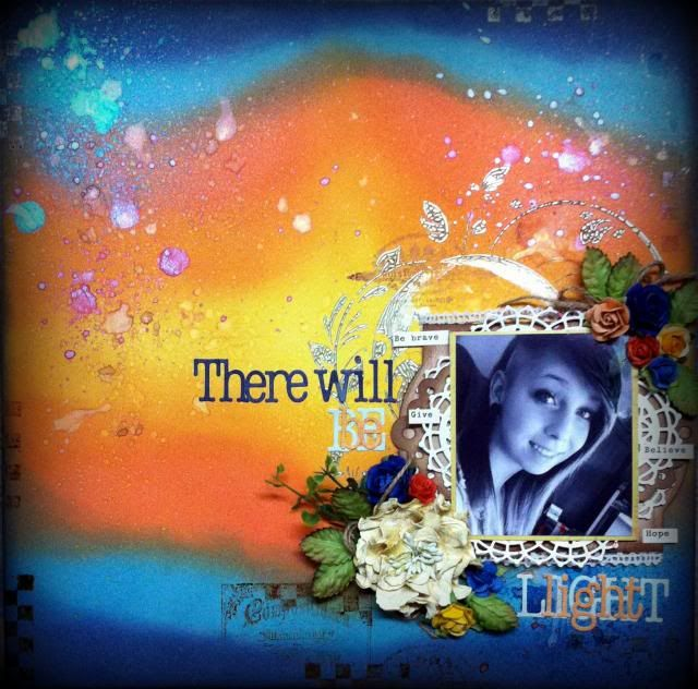 There will be light (Un peu fleur bleue) avec #lindysstampgang