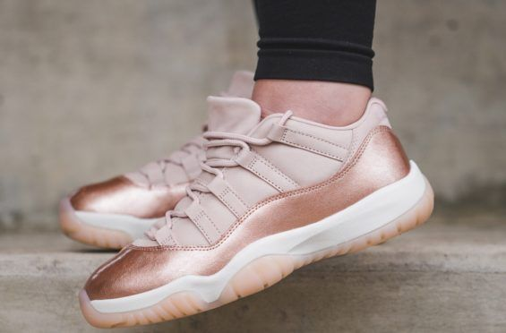 eb24efec09a7 Available Now  Air Jordan 11 Low WMNS Rose Gold