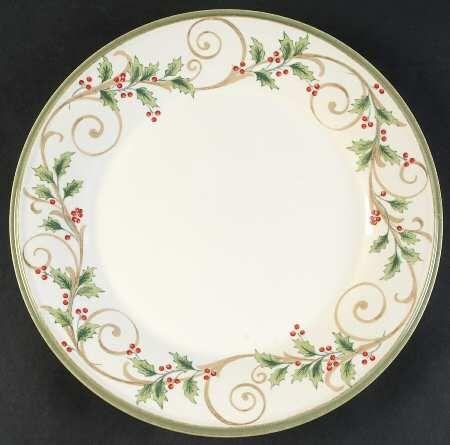 """Nice Christmas Holiday Lenox China Plate 6 1 //2/"""""""