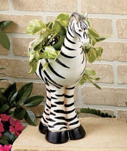 Jungle Animal Flower Pots