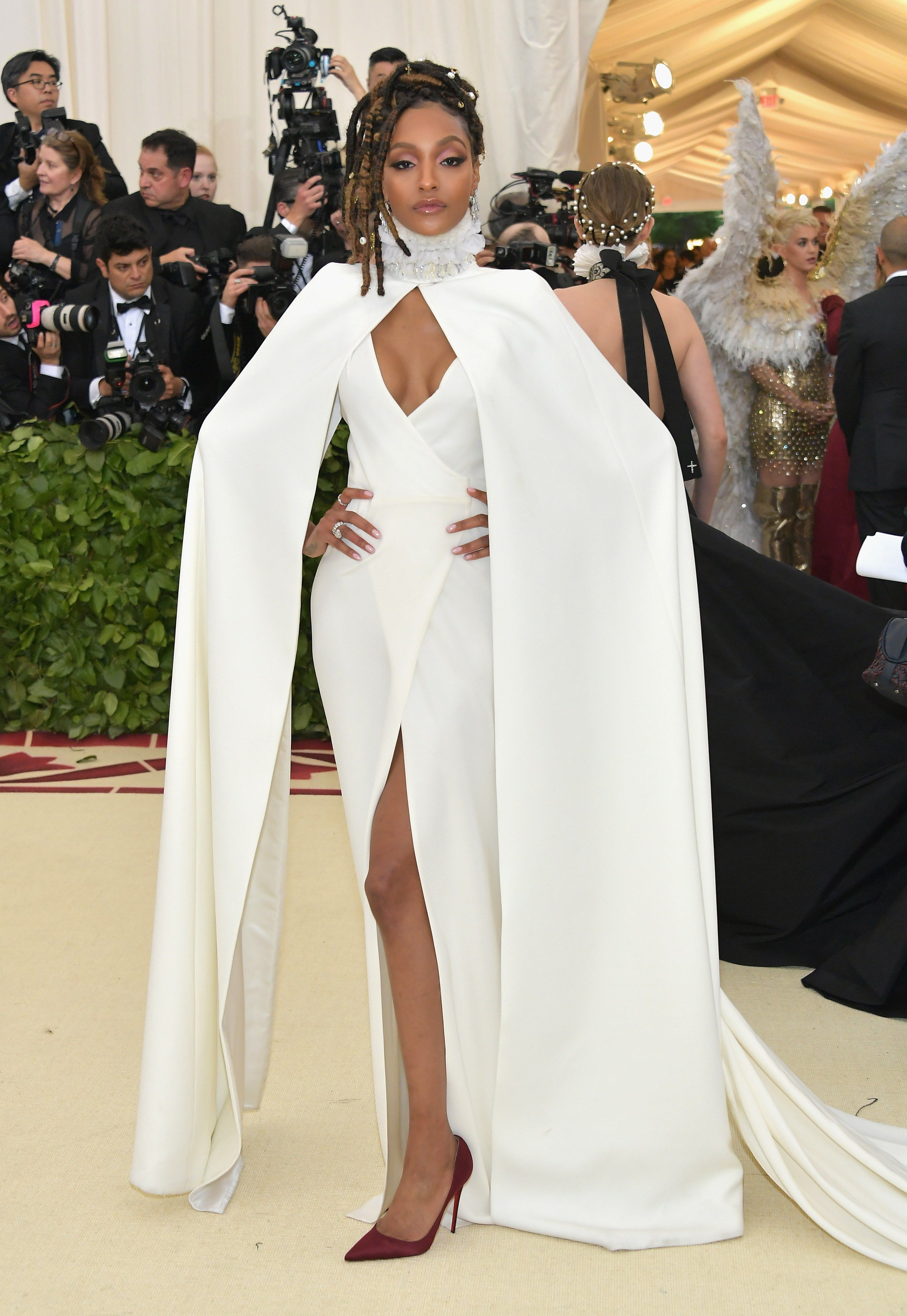 faa2a6ff7e The Met Gala 2018 is fashion s biggest night. See every red carpet look  from your favorite celebrities and designers at the Metropolitan Museum of  Art.