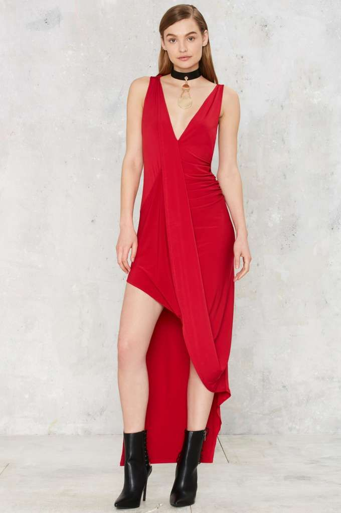 Nasty Gal Pinnacle Asymmetric Dress | Shop Clothes at Nasty Gal!