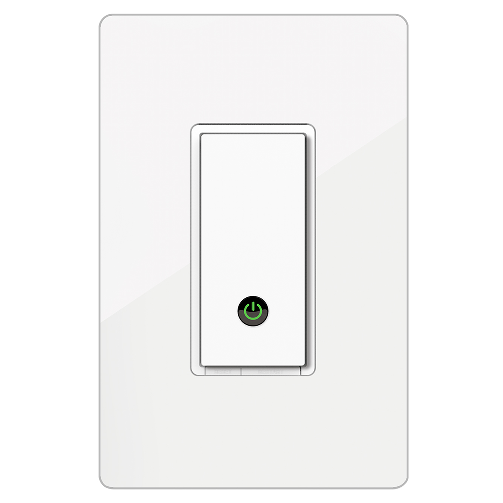 Wemo wifi light switch so i dont have to pull down the ceiling fan