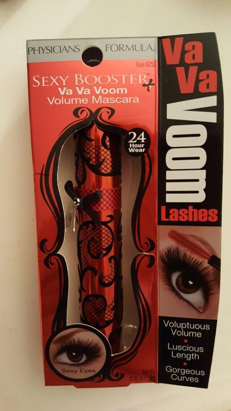 Physician's Formula Sexy Booster Va Va Voom Volume Mascara 24hr Wear in Black, new in box.