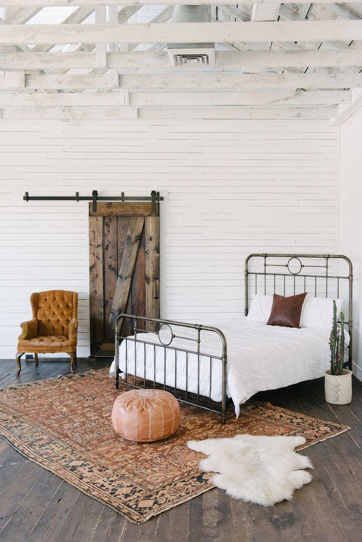 Bedroom styled by Loom + Kiln Bedroom rug placement, Rug