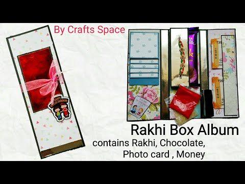Rakhi Box Card Tutorial | Raksha Bandhan Gifts | Bhai Doj Card Tutorial | By Crafts Space