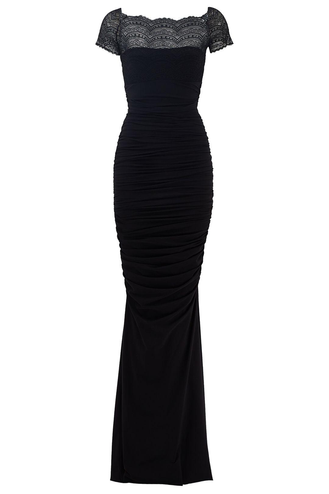 81f7c9c13a00 Black Nasira Gown by La Petite Robe di Chiara Boni for $150 | Rent The  Runway