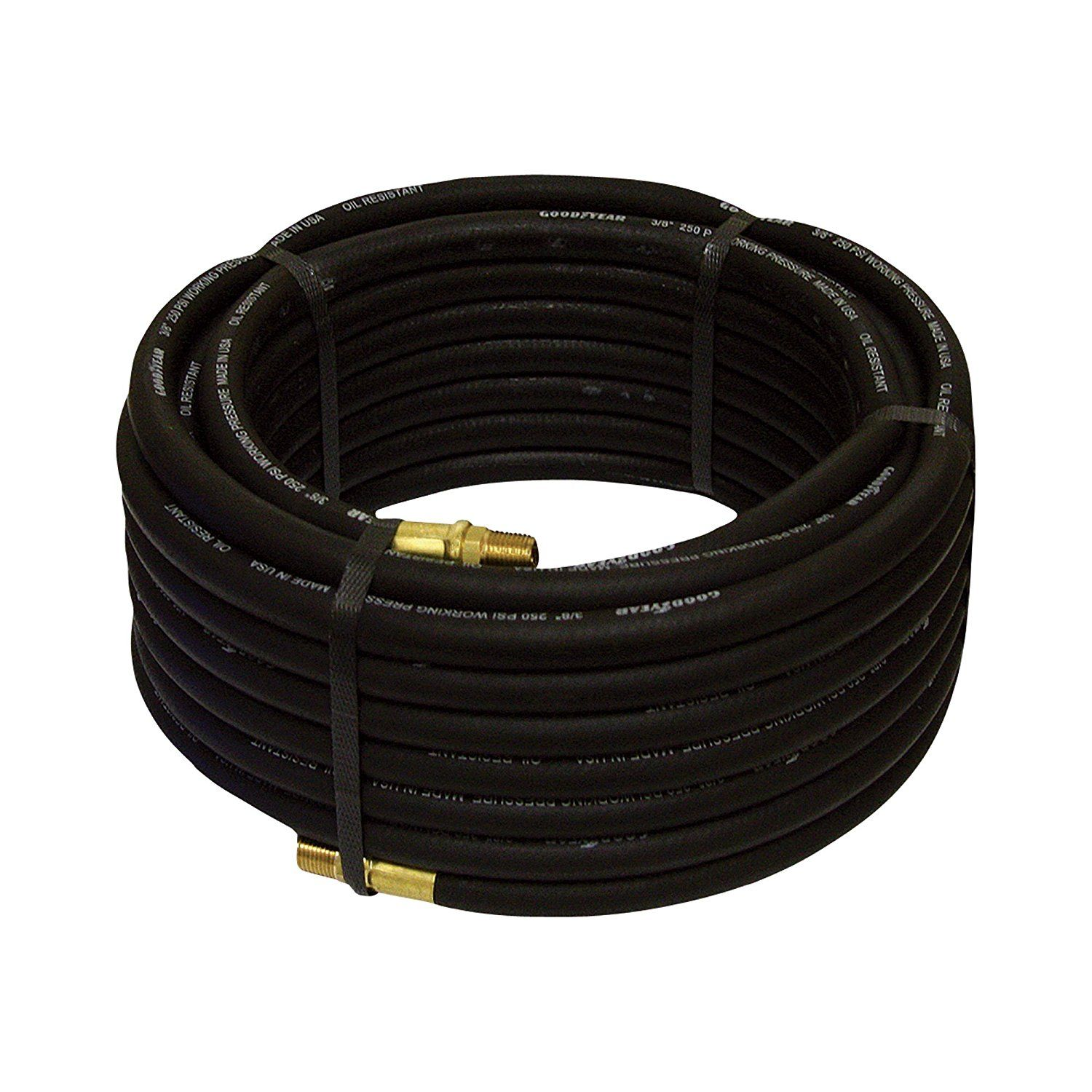 Goodyear Rubber Air Hose 3 8in X 50ft Black You Can Get