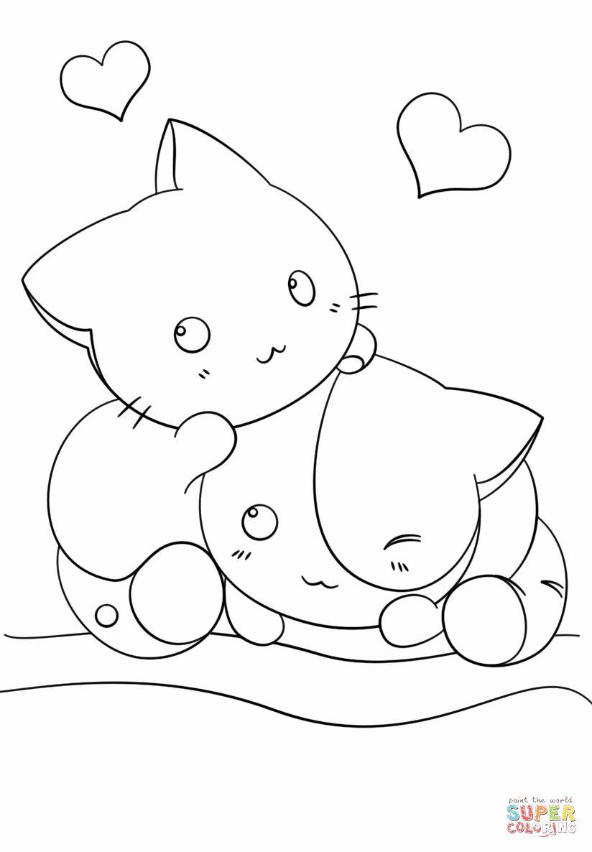 Coloring Pages Kawaii Animals Fresh Coloring Pages Cute Kawaii Animals Coloring Home In 2020 Animal Coloring Pages Cat Coloring Page Cute Coloring Pages