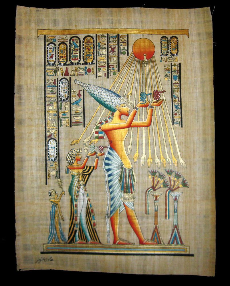 ANCIENT EGYPTIAN GODS CANVAS PICTURE PRINT WALL ART FREE FAST UK DELIVERY