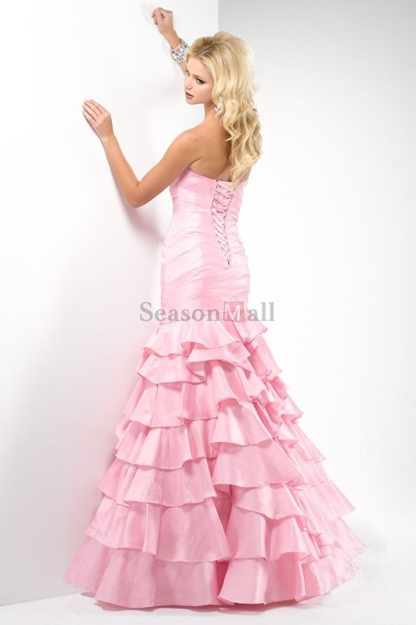 Mermaid/Trumpet Prom Dresses, i would totally look like barbie ...