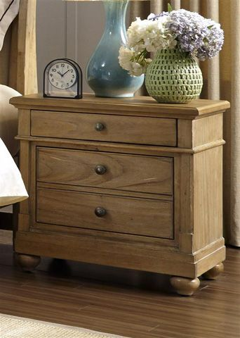Liberty Furniture - Two Drawer Nightstand - 531-BR61