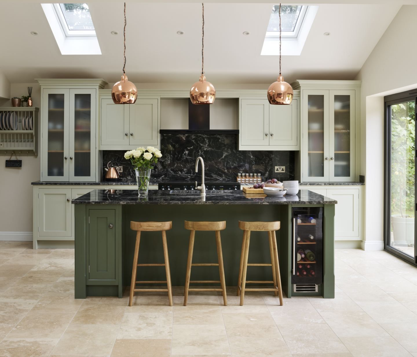 Best This Canterbury Inspired Kitchen By Davonport Is Hand 400 x 300