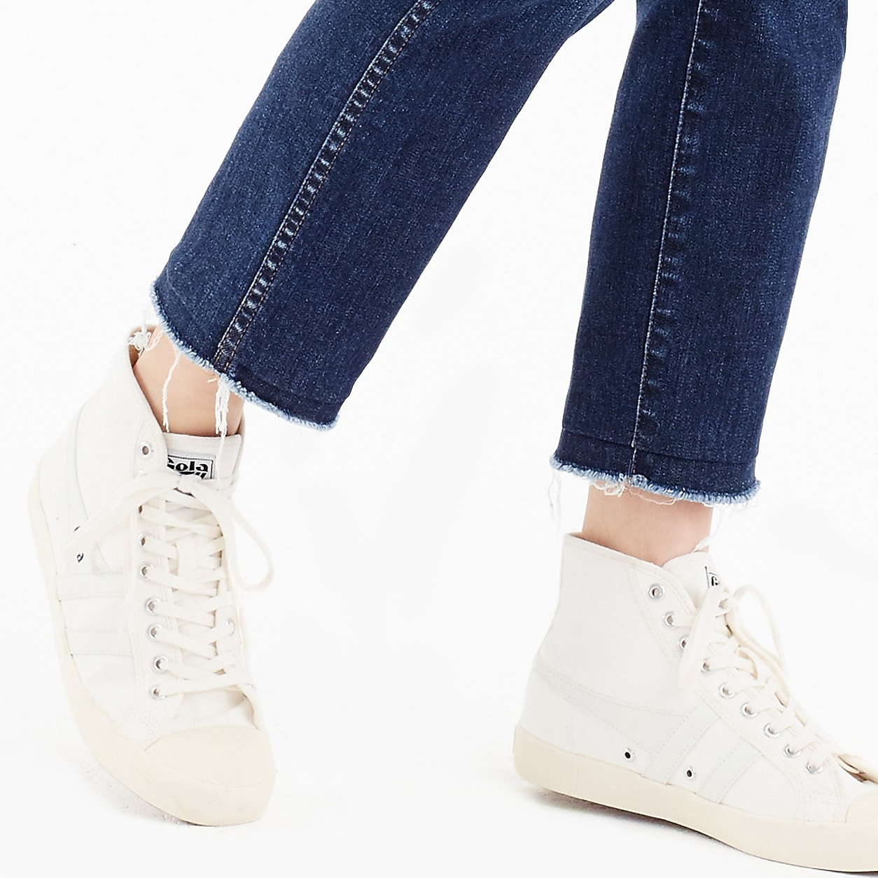fe67e8dab2b Gola For J.Crew Coaster High-Top Sneaker | Products | High tops ...