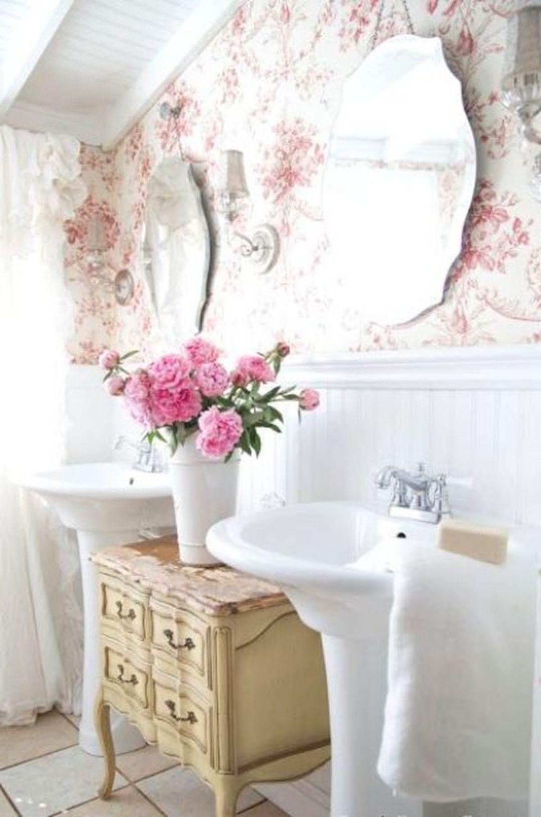 Outstanding Lovely 25+ Shabby Chic Romantic Bathroom Ideas https ...