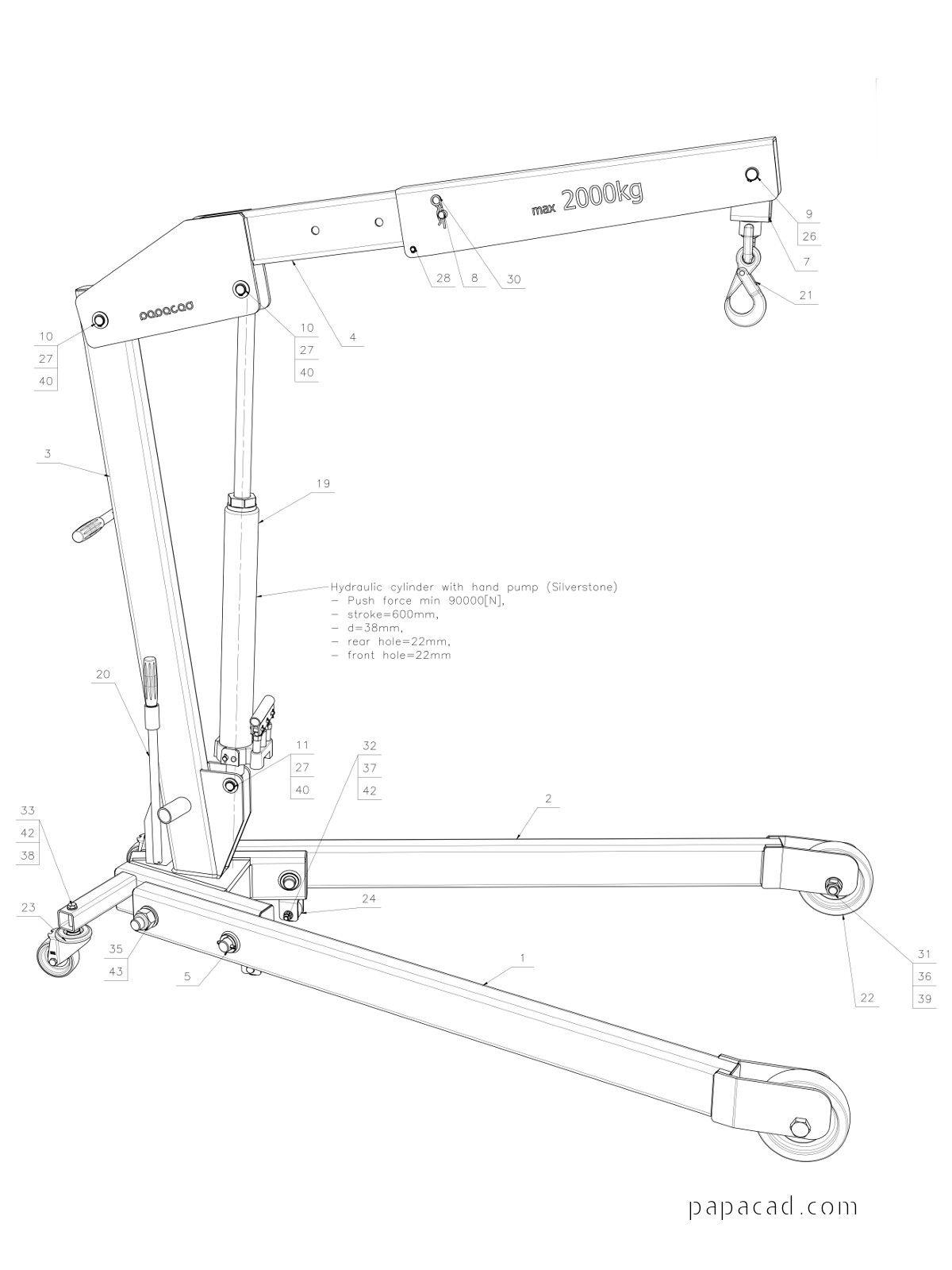 Pin Na Diy Foldable Crane