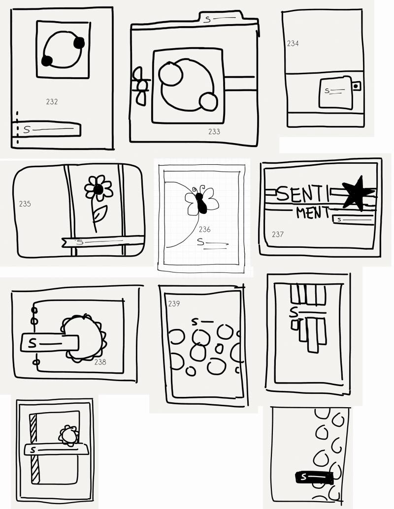 Card Making Ideas Pdf Part - 36: FTL232-242.pdf · Sketch InspirationSketch IdeasCard SketchesDiy CardsCard  ...