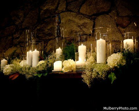 candles and white