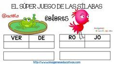 Super juego practicamos la descomposición en sílabas (6)