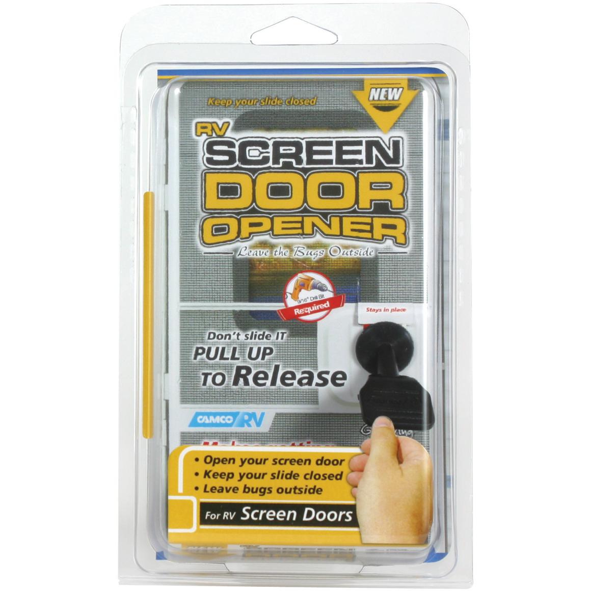 Camco 43953 Screen Door Opener Screen Door Rv Screen Rv Screen Door